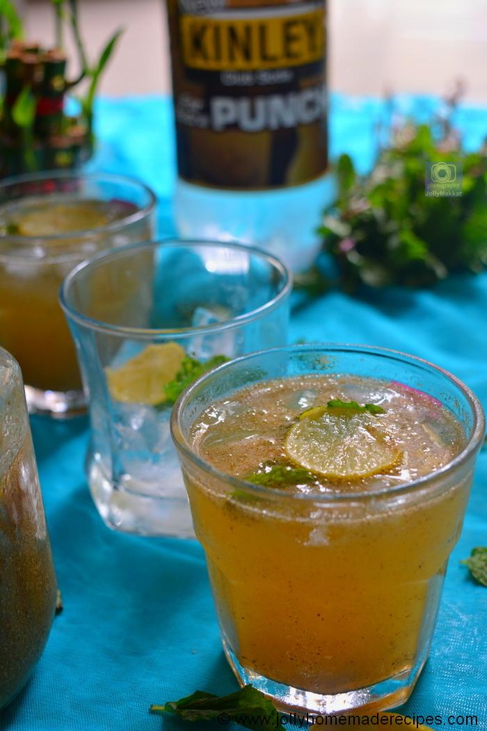 mango masala lemonade