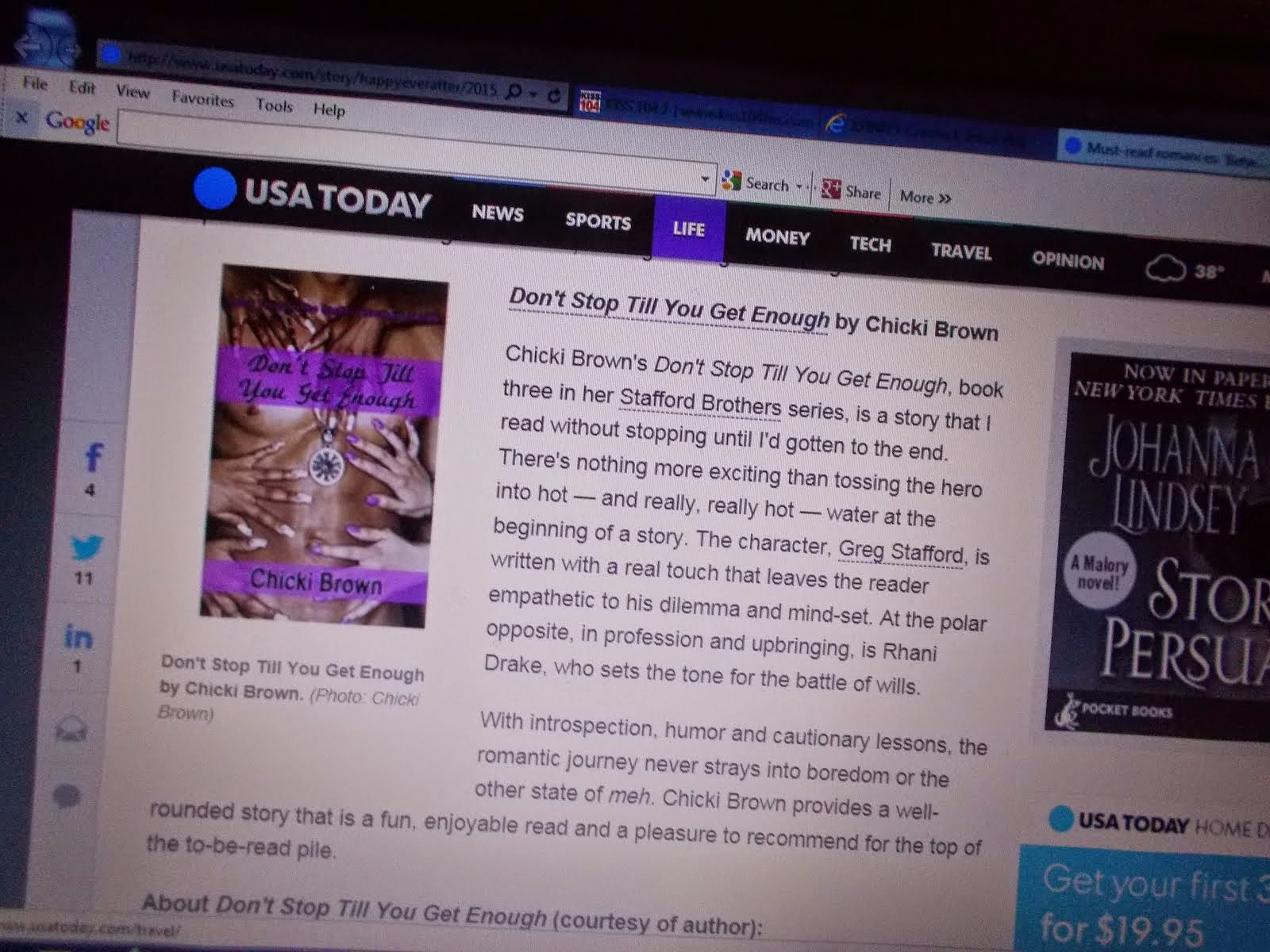 USAToday review!!!