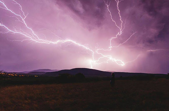 Spectacular CG lightning