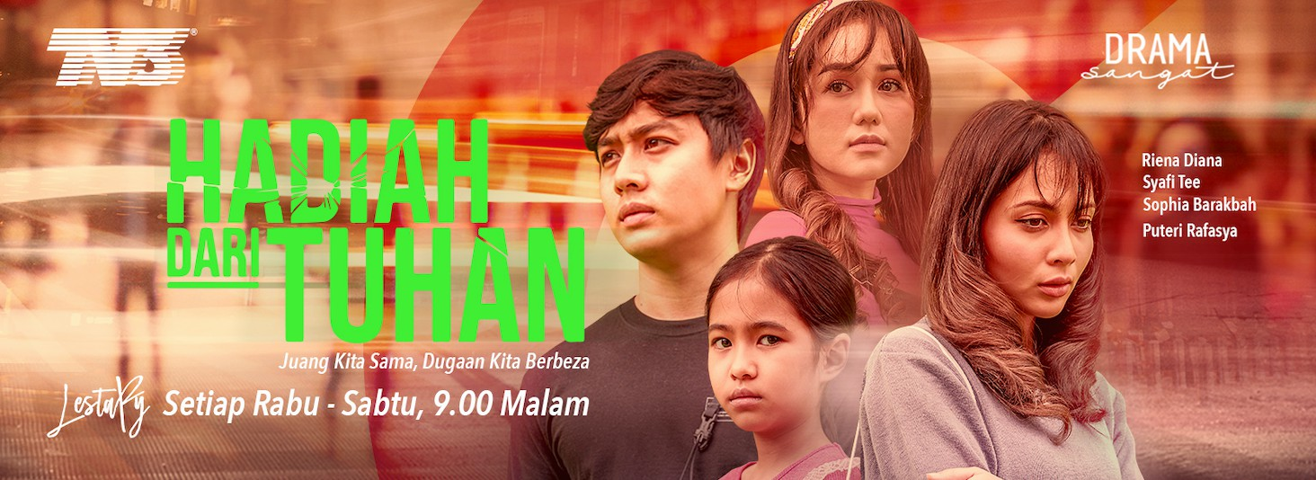 saksikan drama hadiah dari tuhan di tv3 dan iqiyi