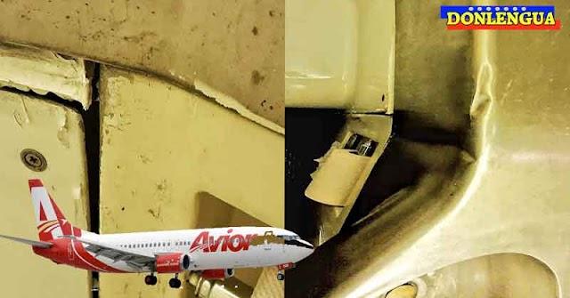 Aviones de AVIOR AIRLINES están en pésimas condiciones y son peligrosos