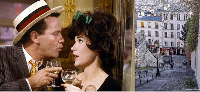 """Montmartre, Paris, e o filme """"Irma, la Douce"""""""