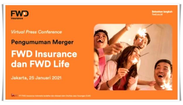 Merger FWD Insurance Bebaskan langkah, berani!