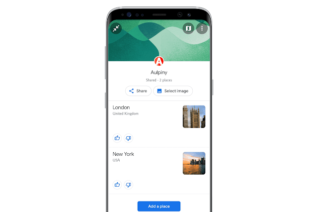Collaborate With Friends On Google Maps