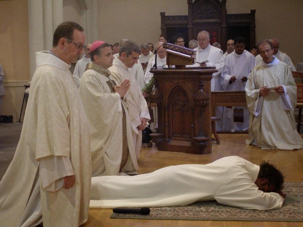 ordination de Damien Muller