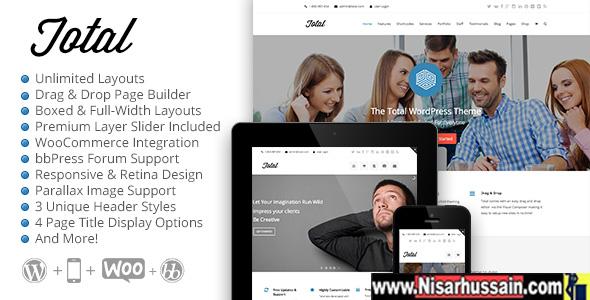 Total Responsive Multi-Purpose Premium WordPress Theme