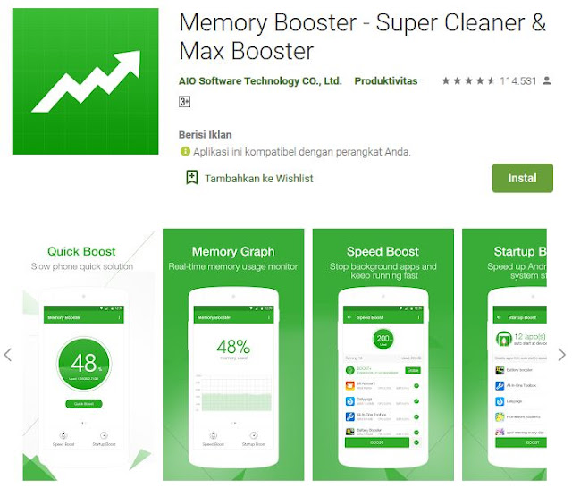Cara Mempercepat Kinerja Smartphone Android Dengan Nox Clear
