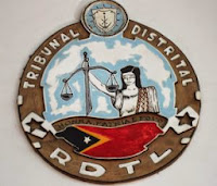 Image of the East Timor District Court's Coat of Arms East Timor Law and Justice Bulletin Warren L. Wright