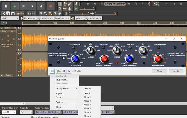 دورة تعلم و احتراف Audacity كيفية إضافة مؤثرات صوتية إحترافية إلى برنامج أوداسيتي مجانا