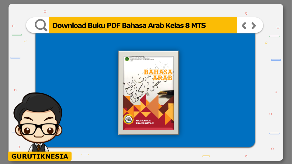download buku pdf bahasa arab kelas 8 mts