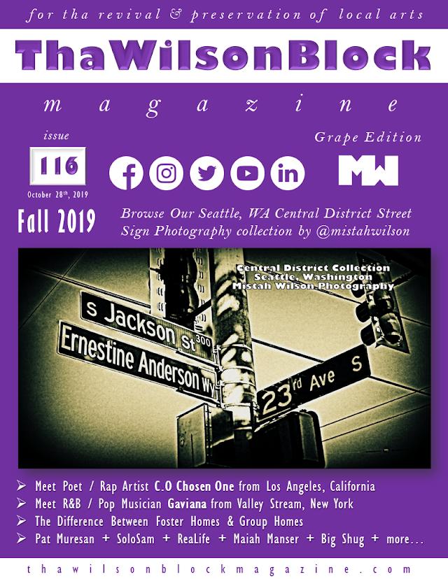 ThaWilsonBlock Magazine Issue116 Grape Edition (Fall 2019)