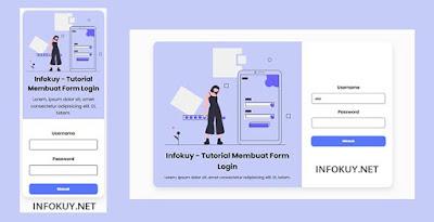 Cara Membuat Form Login Menarik Dengan HTML dan CSS