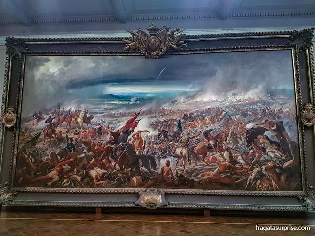 """""""A Batalha do Avaí"""", de Pedro Américo, Museu Nacional de Belas Artes"""