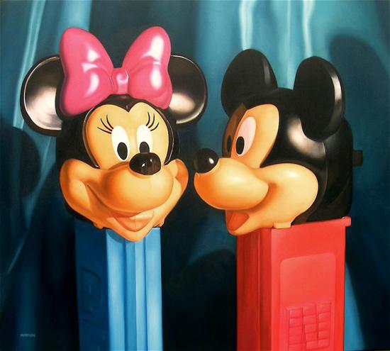 mickey and minnie pez dispensers