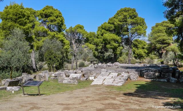 Sítio Arqueológico de Epidauros, Grécia