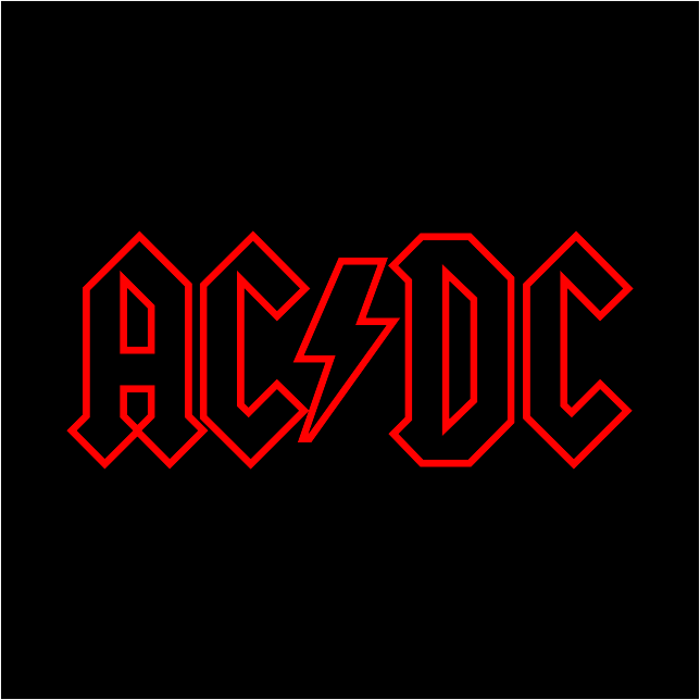 ACDC Logo Free Download Vector CDR, AI, EPS and PNG Formats