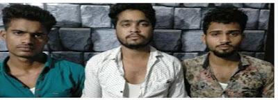 कानपुर नगर के थाना पनकी पुलिस टीम द्वारा 3 अभियुक्तों को 50 किलो गांजा, एक वैगनआर, होंडा अमेज के साथ गिरफ्तार किया