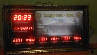 Jadwal Sholat DIgital Murah