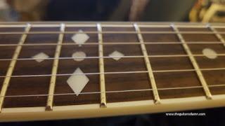 Zemaitis A24SU White Pearl Diamond frets