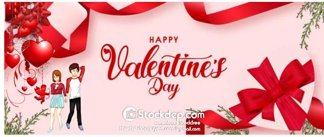 Valentine's day background 14.2 miễn phí