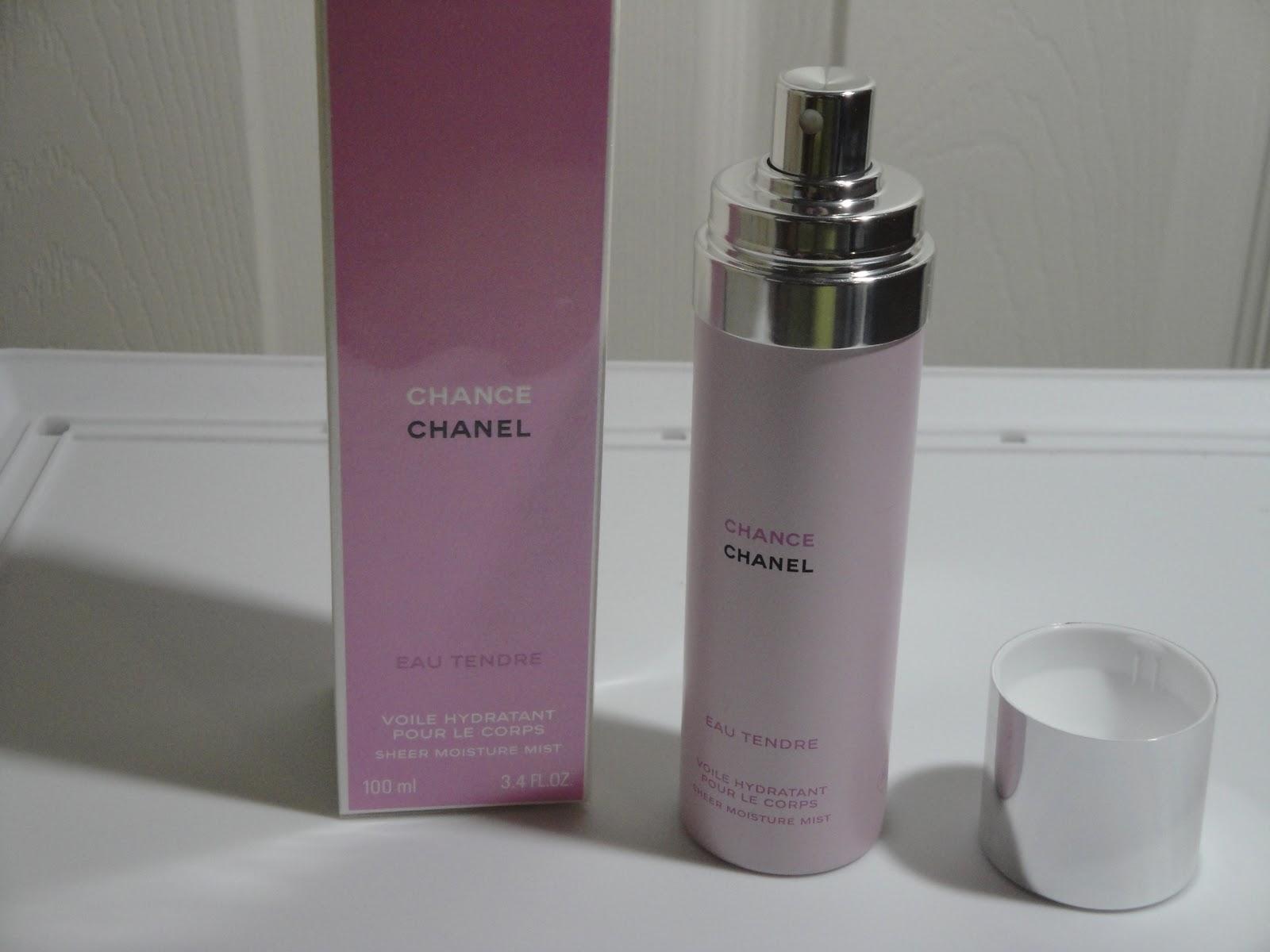 bc725990 Jayded Dreaming Beauty Blog : CHANEL: CHANCE EAU TENDRE SHEER ...