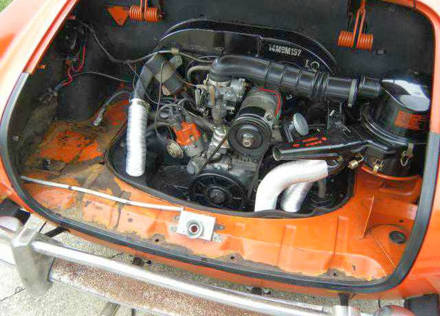1969 Karmann Ghia Orange Buy Classic Volks