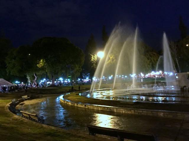 Plaza Independencia em Mendoza