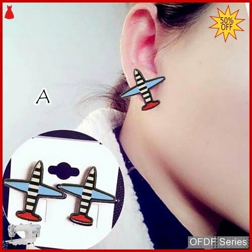OFDF256 Aksesoris Ear Rings Korean Aeroplane D BMGShop