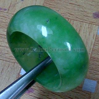 Cincin Batu Giok Jadeite Jade - ZP 1048