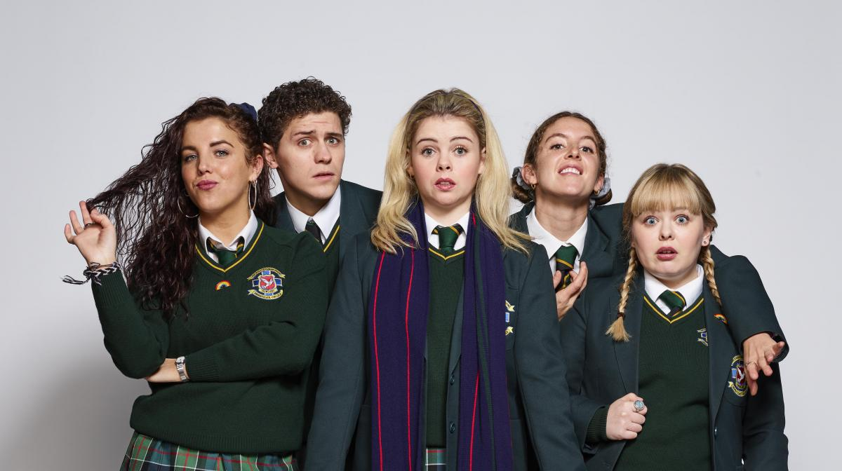 derry girls plakat