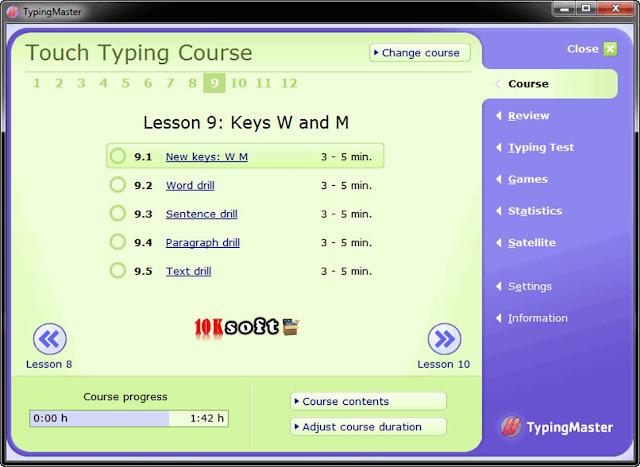Typing Master 7 Pro offline setup file Free Download