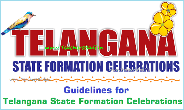 Guidelines,June 2nd,Telangana State Formation Day Celebrations