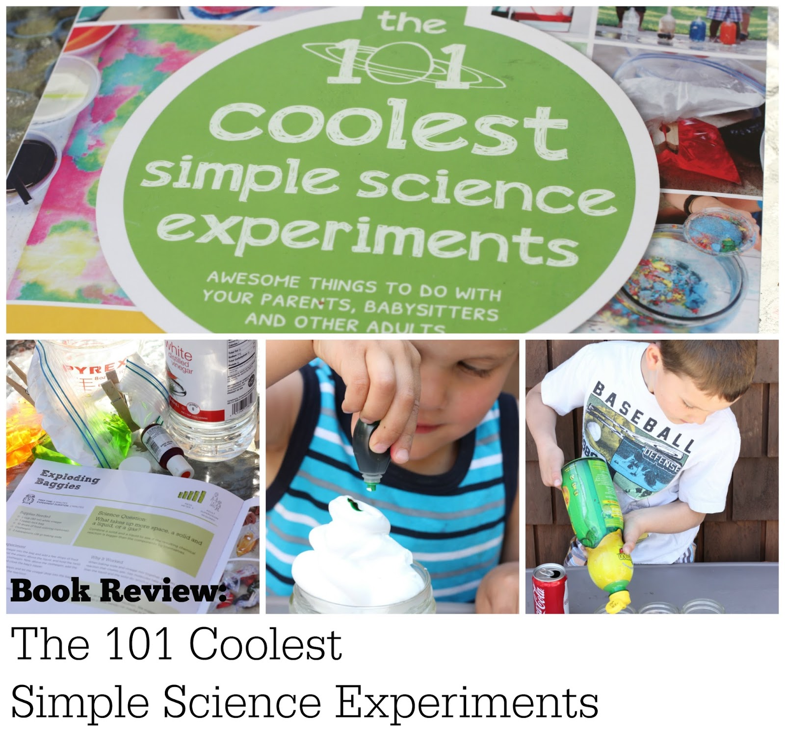 Simple Kitchen Experiments kitchen floor crafts: the 101 coolest simple science experiments