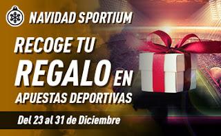 Navidad Sportium Promo Recoge tu Regalo 23-31 diciembre 2019