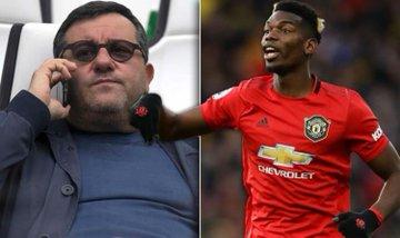 """I Didn't Threaten Anyone To Buyback Pogba"" - Agent Mino Raiola Blasts Manchester United"