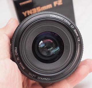 Jual Yongnuo 35mm f2 for Canon Bekas