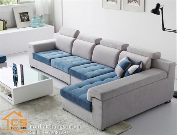 Sofa bền đẹp - giá rẻ sản xuất tại xưởng Nội Thất Chàng Sơn: Sofa đẹp 8
