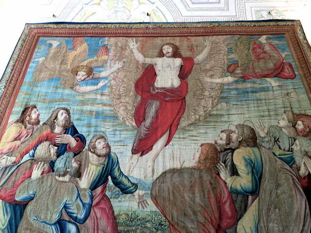 One of the Tapestries in the Vatican Museums