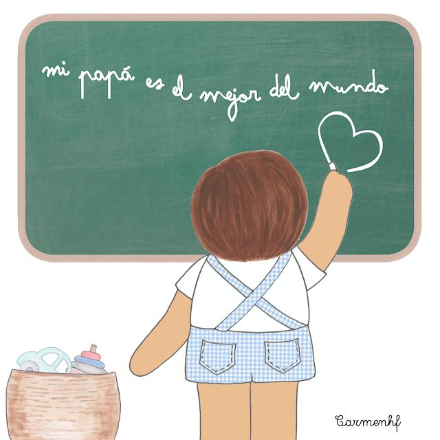 ilustraciones gratis día del padre