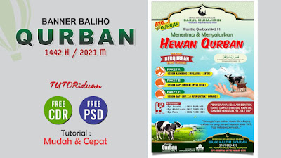 Baliho Qurban 1442 H PSD