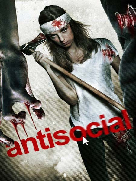 Antisocial 2013 BluRay 480p 270MB Poster
