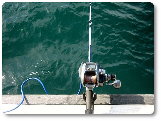 明石沖テンヤタチウオ釣りタックル 関西の船釣りで釣れる 竿とリール