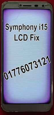Symphony i15 Flash File LCD Fix Firmware