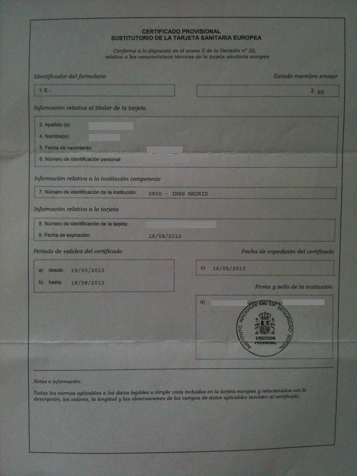 Emigrando A Dublin Tarjeta Sanitaria Europea
