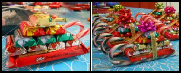 DIY Gift Idea: Candy Sleighs