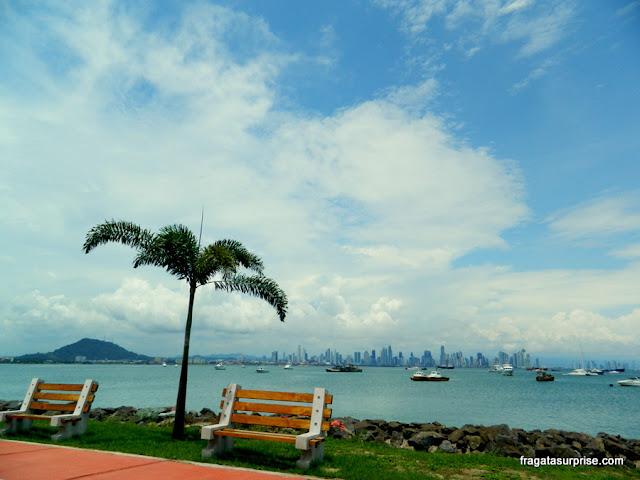 Calçada de Amador, na Cidade do Panamá