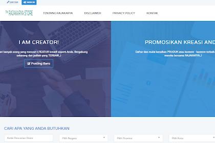 RAJAKARYA.COM Tempat Jual Beli Akun channel Youtube, Jasa Tulis Artikel, Adsense dan Kebutuhan Online Lainnya
