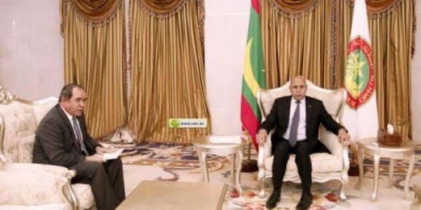 Una importante delegación argelina en Nuakchot (Mauritania)