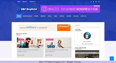 Amp-blogger-theme-101helper