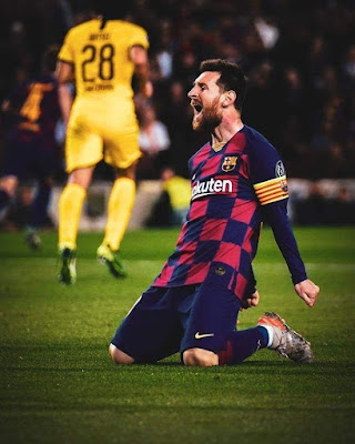 #Lionel #Messi's 700th Match for Barcelona...